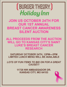october auction flyer